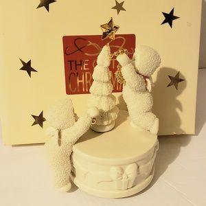 "Dept 56 Snowbabies Holiday - DEPT.56 SNOWBABIES ""O CHRISTMAS TREE"" MUSIC BOX"